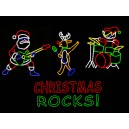 WF-LED-SANTA'S ROCK BAND