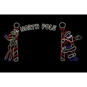 WF-LED-NORTH POLE ARCH