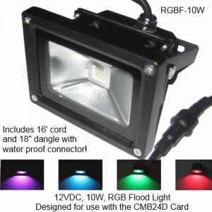 LF-LED-RGB-10w Flood