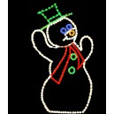 WF-LED-JOLLY SNOWMAN