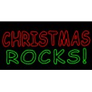 WF-LED-CHRISTMAS ROCKS SIGN