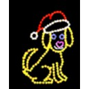 WF-LED-FLASH THE CHRISTMAS DOG