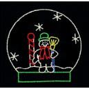 WF-LED-SNOW GLOBE
